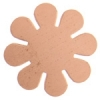 Metal Blank 24ga Copper Flower 24mm No Hole 9pcs